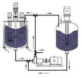 3 급료 낙농장 화학제품을%s 인라인 균질화 펌프 6개의 층 높은 가위