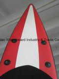 dikte 6 '' met de Opblaasbare Tribune van de D-vormige ringen van het Roestvrij staal op Raad Paddlesurf