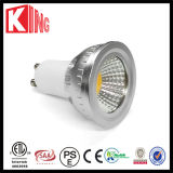 Diodo emissor de luz Spot Light do diodo emissor de luz GU10 Dimmable do CE 6W 600lm COB de ETL SAA