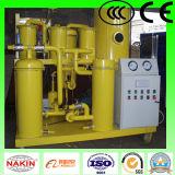 Purificação do óleo de lubrificação de China, equipamento do purificador de óleo do vácuo