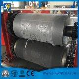 Machine gravante en relief pliée de papier de soie de soie de serviette de 2 couleurs