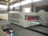Corrugado automática de alta velocidad de impresión flexográfica que ranura Die maquinaria de corte