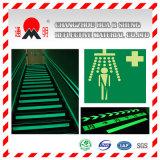Film r3fléchissant luminescent de photo de Pet/PVC pour le signe de sûreté (FG301)