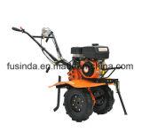 Cultivador rotatorio accionado de la sierpe del motor de gasolina