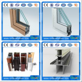 Perfiles revestidos coloreados de las protuberancias de la ventana de aluminio del polvo