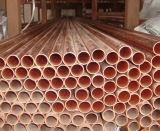99.99 Tubulação de cobre da pureza (C11000, C17200, C12200, C17500, C10200)