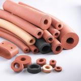Extrusão próxima da esponja do silicone da pilha, esponja Profil do silicone, cabo da esponja do silicone