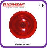 Het Conventionele Visuele Alarm van uitstekende kwaliteit, Rood Lichaam (442-003)