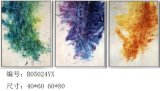 Abstrakter Segeltuch-Wand-Kunst-Farbanstrich für Hauptdekor
