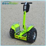 Ecorider 2 Elektrische Autoped van de Kar van het Golf van het Wiel de Elektrische met de Batterij van het Lithium van Twee 72V Samsung