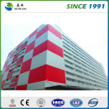 Пакгауз стальной структуры Prefab зданий пакгауза полуфабрикат