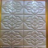 Panneau acoustique en cuir PU Panneau murale décoratif panneau de toit Panneau mural 3D