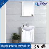 Moderne Wand-Plastikbadezimmer-Schrank mit Spiegel