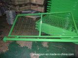 Puerta soldada tubo redondo de la calzada de la puerta de jardín de la cerca del acoplamiento de alambre