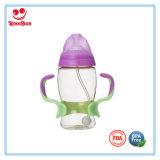 Personifizierte Baby-führende Flasche des Nahrungsmittelgrad-PPSU mit Griff