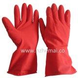 De rubber Handschoenen van het Huishouden van het Latex van de Keuken van de Handschoenen van de Was van de Schotel