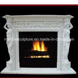 Естественный мраморный Surround камина (SY-MF028)
