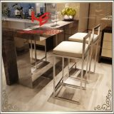 Стул офиса стула гостиницы стула стула штанги стула трактира стула банкета (RS161905) самомоднейший обедая мебель нержавеющей стали стула дома стула венчания стула