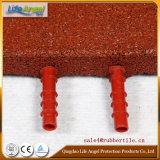 Stuoia di gomma di ginnastica, mattonelle di pavimentazione di gomma di 10mm-50mm. Stuoia di gomma del pavimento