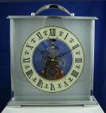Reloj de vector casero del carro de la colección de los decoradores