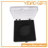 Capsule en plastique transparente faite sur commande pour la boucle d'oreille entière de vente (YB-PB-06)