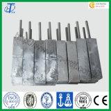 200* (90+110) *40mm Zinc Anode 7.5kg