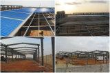 Светлое здание стальной структуры промышленное/стальная мастерская