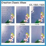 4-12mm matizou o vidro gravado ácido do teste padrão com GV do Ce
