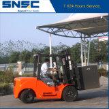 Carretilla elevadora diesel de China 4ton con el motor de Japón para la venta