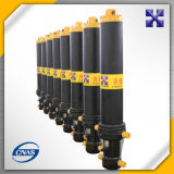 Tipo cilindro hidráulico telescópico de Fe/FC/Fee Hyva para o caminhão de descarga/reboque/descarregador pesados