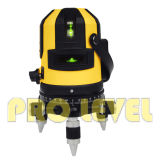 Niveaux auto-nivelants multi-lignes 4V1h1d laser vert (SK-411G)