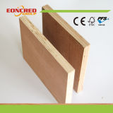 madera contrachapada de 18m m de la madera contrachapada de la chapa de China 4X8