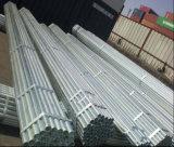 El tubo de acero Pre-Galvanizado de 25m m Od/galvanizó el tubo de acero/el tubo galvanizado acero redondo