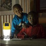 Bewegliche Solarlaterne, die 8 Stunden beleuchtet