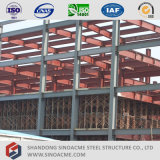 Centre commercial préfabriqué de structure métallique d'histoire multi