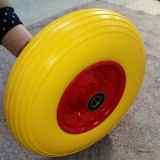중국 유럽 기준 단단한 바퀴 무덤 PU 거품 바퀴