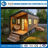 Os fornecedores de China fornecem o transporte luxuoso Prefab do preço da habitação do recipiente da casa de Alemanha da casa pré-fabricada