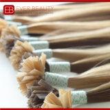 前に先端の人間の毛髪のブラジルのRemyの担保付きの平らな毛