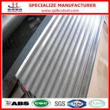 Hoja de acero acanalada del material para techos del Galvalume de la Anti-Huella digital Az100