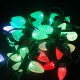 20m太陽LEDのクリスマスツリーライトLEDネオン屈曲