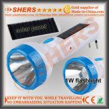 Solar1w LED Taschenlampe mit 6PCS LED Schreibtisch-Lampe (SH-1919)
