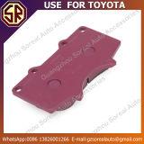 Gebrauch der Qualitäts-Selbstbremsbelag-04465-35290 für Toyota