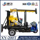 Foreuse utilisée portative de forage de Xy-200t à vendre