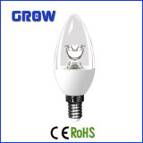 bulbo baixo da vela do diodo emissor de luz da flor do excitador de 3.5With5W E14 CI (C37-867-IC)