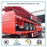 Dei 3 assi del carico del camion del palo rimorchio pratico semi dal fornitore della Cina
