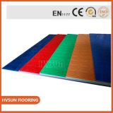 Couvre-tapis en caoutchouc les meilleur marché ignifuges en caoutchouc de centre de forme physique de nattes d'étage d'anti glissade