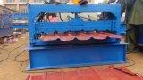 El panel de la azotea de la hoja de acero que forma la máquina