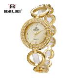 Belbi Dame-Form-wildes ultradünnes Kapitel der wasserdichten Armband-Quarz-Uhr