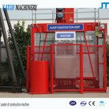 vendita calda del modello Sc100 dell'elevatore della costruzione 1t