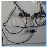 Fraiseuse d'Eau-Fente biaxiale pour le traitement de porte de guichet d'UPVC